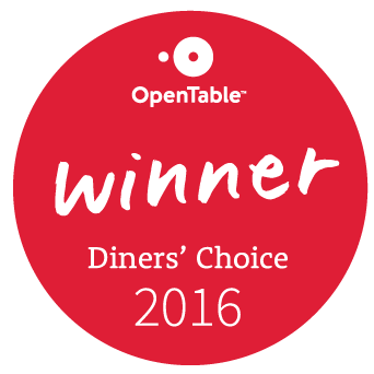 Open Table winner Dinners Choice.